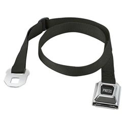Black Seat Belt Buckle Designer Belt