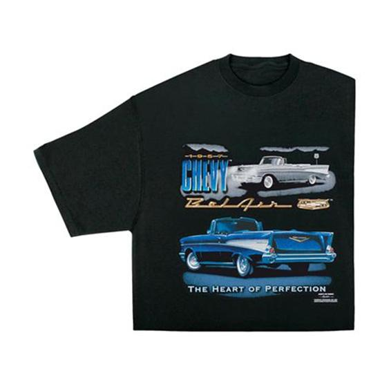 1957 chevy bel air t shirt. Black Bedroom Furniture Sets. Home Design Ideas