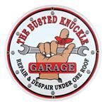 Busted Knuckle Garage Vintage Tin Sign