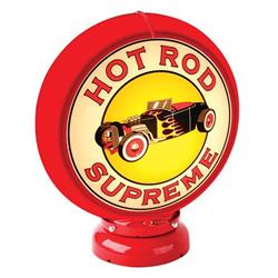 Hot Rod Supreme Gas Pump Globe