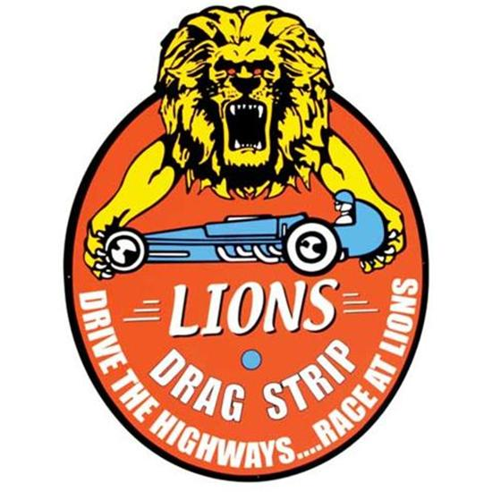 Garage Sale - Lions Dragstrip Metal Sign