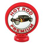 Gas Pump Hot Rod Premium Globe with Stand