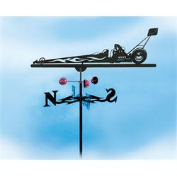 Garage Sale - Dragster Weathervane-Garden
