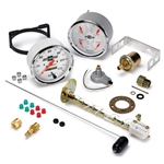 Auto Meter 1303-00408 Chevy Vintage Air-Core Quad Gauge Kit, 5 Inch