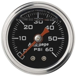 Auto Meter 2173 Auto Gage Mechanical Pressure Gauge, 1-1/2 Inch, 0-60