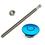 Quik-Latch QL-25-ACBU Blue Anodized Mini Air Cleaner Latch