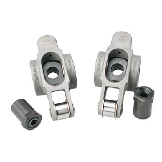 Crower Small Block Chevy Rocker Arms, 7/16 1