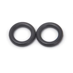 Edelbrock 12416 Fuel Transfer Tube O-Ring, Rubber, Holley Carbs, Pair