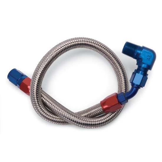 Edelbrock stainless steel braided fuel line