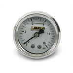 Earls 100189ERL Fuel Pressure Gauge, 1.5 Inch Diameter