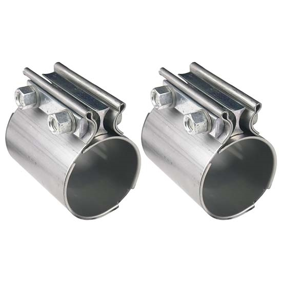 Steel Coupler 3 : Hooker hkr stainless steel torca style exhaust