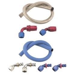Speedway Holley Mechanical Fuel Pump Fuel Line Kit
