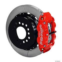 Wilwood 140-9216-R FNSL 4R Rear Brake Kit, Small Ford 2.66 Off