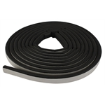 Hollow Half Round Rubber Cowl Lacing, 5/8 Inch Wide, 8 Ft.
