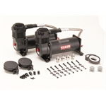 Viair 44442 Dual Air Compressor Kit, 444C, Black