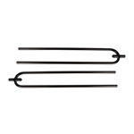 Curtis-Style Radius Rods, 36 Inch, Plain Steel