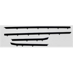Re-Pops 4-Piece Windwfelts Weatherstrip for 1967 Camaro Coupe