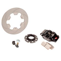 Ultra Lite 410-8113B Titanium Inboard Brake Kit, Non-Vented Rotor HD