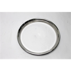 Garage Sale - Stainless Steel 15 Inch Beauty Ring, Ribbed