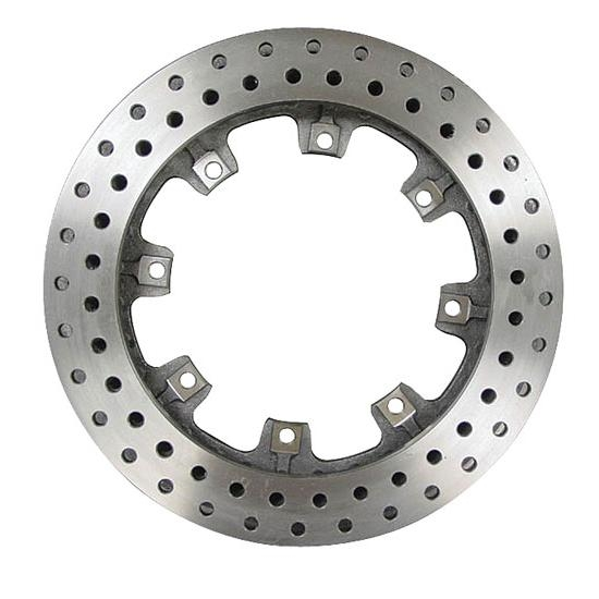 AFCO 6640118 12.19 In Pillar Vanve Drilled Rotor, 1.25 In