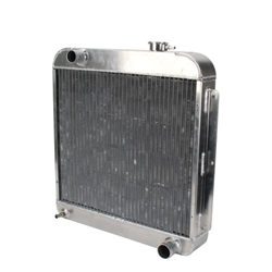 AFCO 80170N  1957 Chevy Aluminum Radiator, Chevy Engine