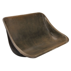 EMPI 3046 Buggy Rear Fiberglass Bench Seat, 34-1/2 Inch x 23 Inch