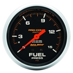 Auto Meter 5413 Pro-Comp Mechanical Fuel Pressure w/ Isolator Gauge