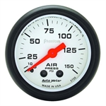 Auto Meter 5720 Phantom Mechanical Air Pressure Gauge, 2-1/16 Inch