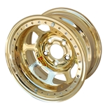 Aero 53985020XGOL 53 Series 15x8 Wheel, BLock, 5 on 5 BP, 2 Inch BS