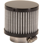 Black Valve Cover Breather Filter, 1-1/2 Inch