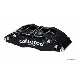 Wilwood 120-10137 DP6 Lug Mount LH Caliper, 5.25 Inch Mount