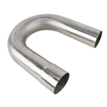 Stainless Steel Exhaust Bend, 180 Degree, 2-1/2 Inch
