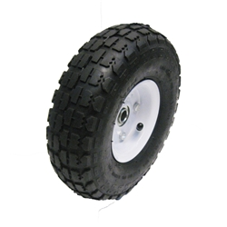 "Garage Sale - 10"" Pneumatic Tire and Rim"
