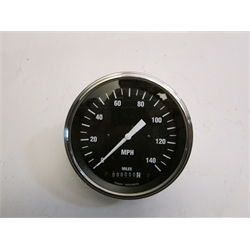 Garage Sale - Classic Hot Rod Series Black Speedometer