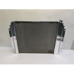 Garage Sale - AFCO 1966-67 Chevelle LS Swap Polished Aluminum Radiator, No Trans Cooler