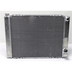 Garage Sale - AFCO 80101NDP-16 Double Pass Radiator, 27.5 Inch, -16 AN R Side Inlet