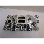 Garage Sale - Edelbrock 27014 Performer EPS Chevy Intake Manifold-Endurashine Finish