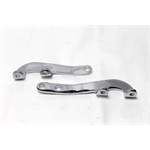 Garage Sale - Chevy 1 Inch Drop Chrome Flat Plate Steering Arms For T-Bucket