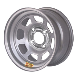 Garage Sale - Aero 55-074230 55 Series 15x7 Wheel, 4-lug, 4 on 4-1/4 BP, 3 Inch BS