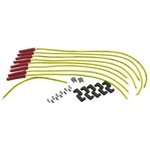 Accel 8023 8.8 Spiral Core Spark Plug Wires, HEI, Straight Boot