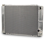AFCO 80123N Double Pass Style Racing Radiator, 27.5 Inch, -16AN Right
