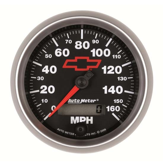 Auto Meter 3688-00406 GM Black Air-Core Speedometer Gauge, 3-3/8 Inch