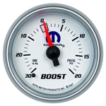 Auto Meter 880026 Mopar Mechanical Boost/Vacuum Gauge, 2-1/16 Inch