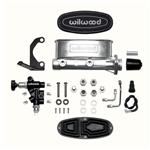 Wilwood 261-13270 Aluminum Tandem Master Cylinder Kit with Bracket and Valve