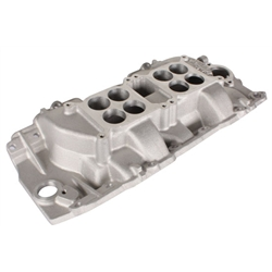 Edelbrock 5421 396-454 Chevy Dual Quad Intake Manifold, Rectangle Port