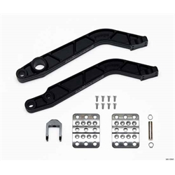 Wilwood 340-12043 Retrofit Adj Brake/Clutch Pedal Kit, Fwd Swing Mount