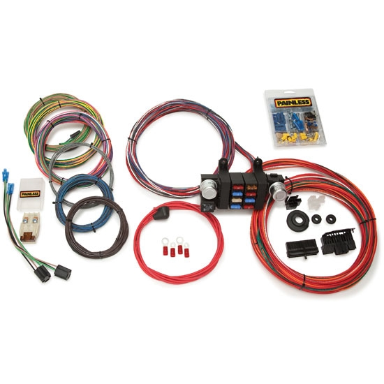 speedway economy 12 circuit wiring harness shipping painless wiring 10308 18 circuit modular wiring harness