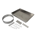 Aluminum Fan Shroud Kit for 31 Inch Radiator, Engine Driven Fan