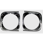 Dynacorn HL03-72P Headlight Bezels for 1972 Chevelle, Pair
