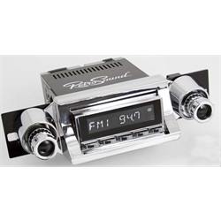 RetroSound RC900C-104-252-51-74 Classic Radio, 1957 Bel Air, Chrome